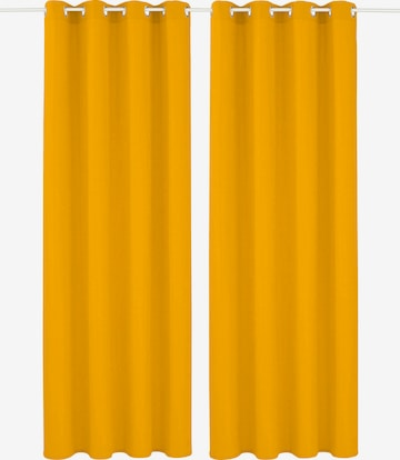 MY HOME Curtains & Drapes in Yellow