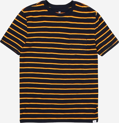 GAP Shirt 'JULY' in de kleur Donkerblauw / Geel, Productweergave