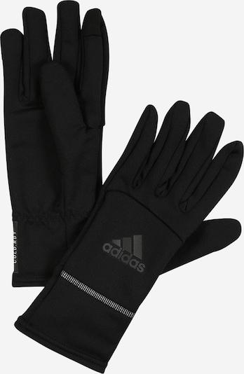 ADIDAS PERFORMANCE Sporthandschuh in grau / schwarz / weiß, Produktansicht