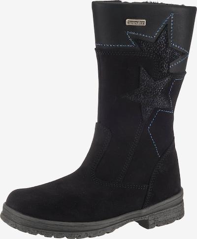 Däumling Stiefel in nachtblau / schwarz, Produktansicht