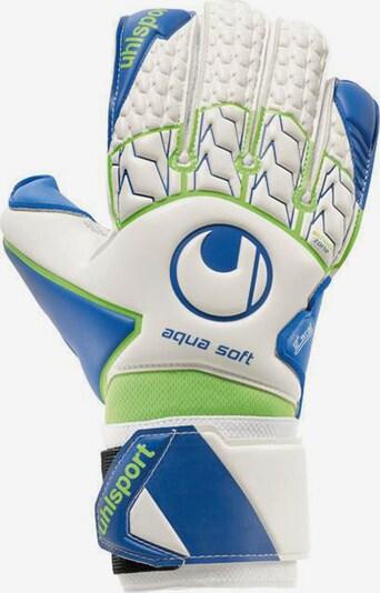UHLSPORT Handschuh in blau / neongrün / weiß, Produktansicht