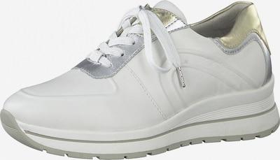 TAMARIS Nízke tenisky - zlatá / strieborná / biela, Produkt