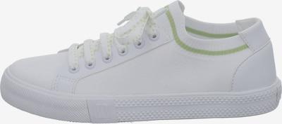 Westland Sneaker 'Swan' in hellgrün / weiß, Produktansicht