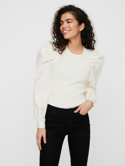 Bluză 'Morgan' VERO MODA pe grej, Vizualizare model