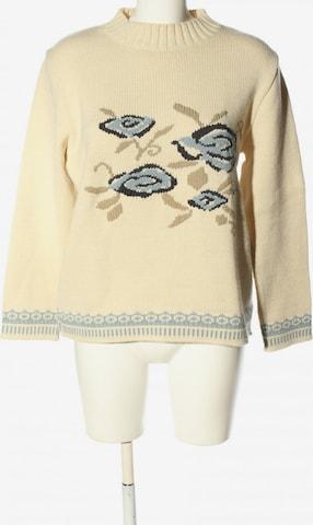 DUO Sweater & Cardigan in L in Beige