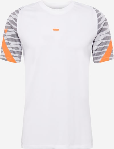 Tricou funcțional NIKE pe gri / portocaliu / alb, Vizualizare produs