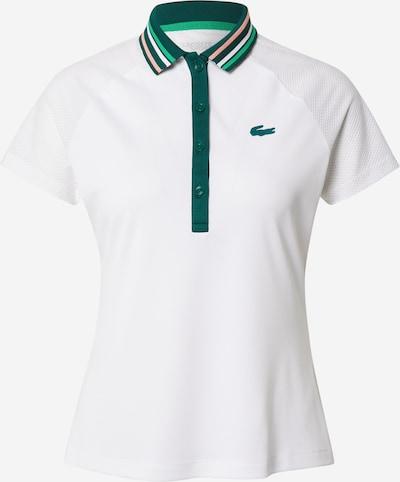 Lacoste Sport Sporta krekls, krāsa - smaragda / balts, Preces skats