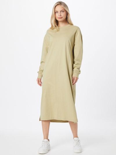 Samsoe Samsoe Kleid 'Chrome ls' in pastellgrün, Modelansicht