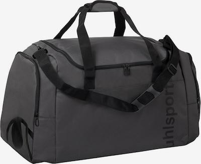 UHLSPORT Tasche in dunkelgrau / schwarz, Produktansicht
