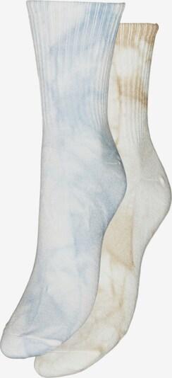 VERO MODA Calcetines en azul claro / marrón claro / blanco, Vista del producto