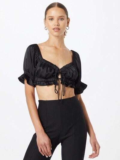 Gina Tricot Bluse 'Jane' in schwarz, Modelansicht