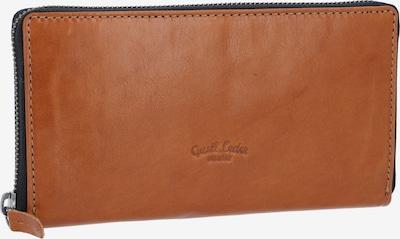 Gusti Leder Brieftasche 'Cara' in braun, Produktansicht