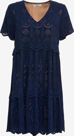 HALLHUBER Kleid in beige / dunkelblau, Produktansicht