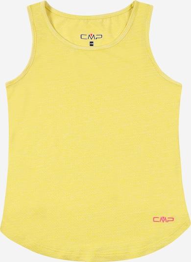 CMP Functioneel shirt in de kleur Geel / Pink / Wit, Productweergave