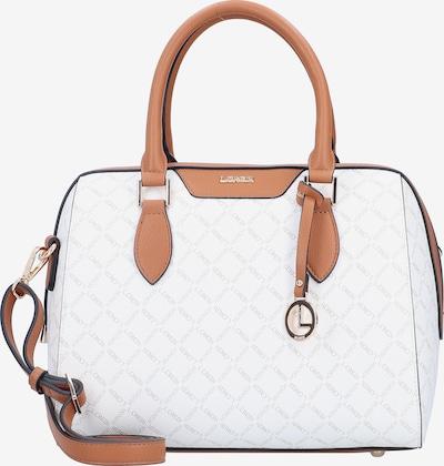 L.CREDI Handtasche 'Filiberta' in braun / weiß, Produktansicht