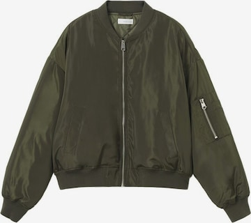 MANGO TEEN Prechodná bunda - Želená