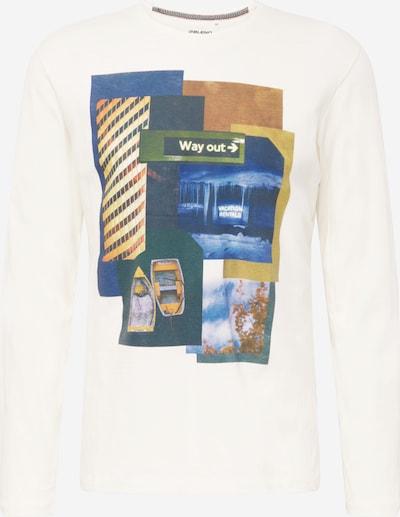 BLEND Shirt in mischfarben / weiß, Produktansicht