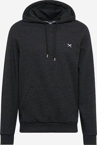 Iriedaily Sweatshirt 'RETAIN' in Black