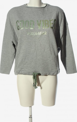 Pull&Bear Sweatshirt in S in Grau