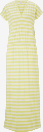 heine Robe d'été en jaune clair / blanc, Vue avec produit