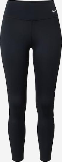 NIKE Sportbroek in de kleur Zwart / Wit, Productweergave