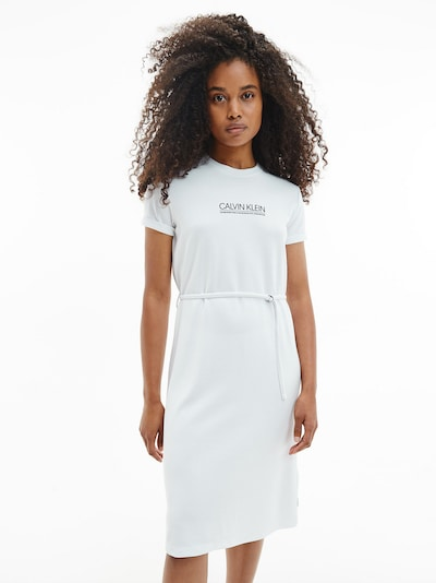 Calvin Klein Letné šaty - čierna / biela, Model/-ka
