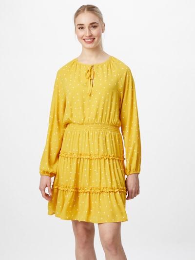 Rochie 'Dotties' VILA pe galben / alb, Vizualizare model