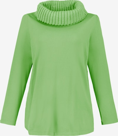 Ulla Popken Pullover in grün, Produktansicht