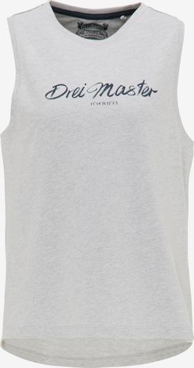 DreiMaster Vintage Top in mottled grey, Item view