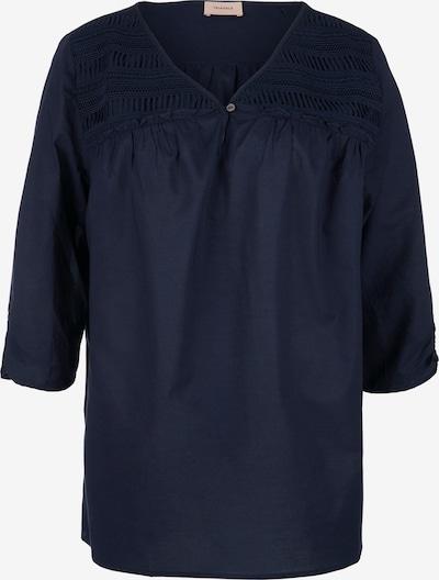 TRIANGLE Bluse in marine, Produktansicht