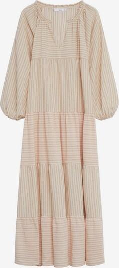 MANGO Kleid 'Renee' in nude / braun / rostrot, Produktansicht