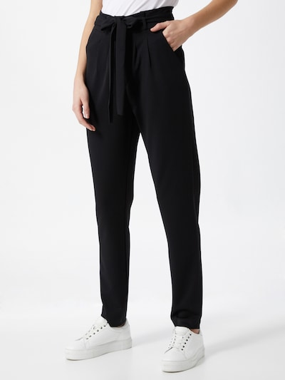 JDY Pleat-front trousers in Black, View model