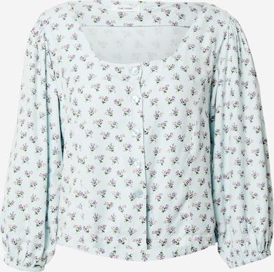 Camicia da donna 'Diliana' NUÉ NOTES di colore blu chiaro / verde / lilla / lilla chiaro, Visualizzazione prodotti