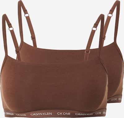 Sutien Calvin Klein Underwear pe ciocolatiu, Vizualizare produs