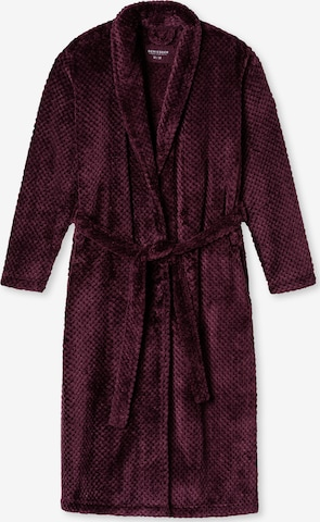 SCHIESSER Lühike hommikumantel, värv punane