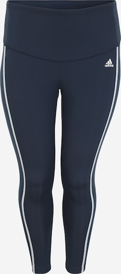 Pantaloni sport ADIDAS PERFORMANCE pe albastru închis / alb, Vizualizare produs