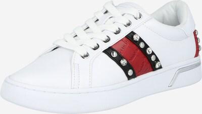 GUESS Nizke superge 'Ricena' | rdeča / črna / off-bela barva, Prikaz izdelka