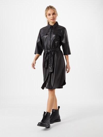 Someday Kleid 'Quaara' in schwarz, Modelansicht