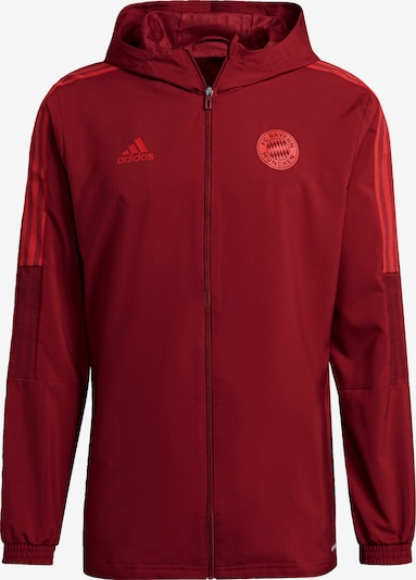 ADIDAS PERFORMANCE Sportjas 'FC Bayern München' in de kleur Merlot / Lichtrood, Productweergave