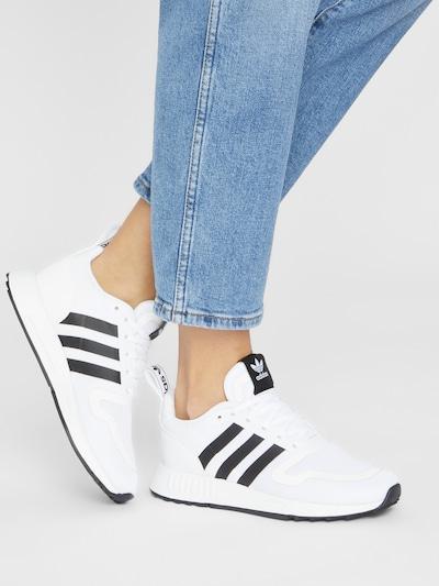ADIDAS ORIGINALS Sneakers 'Multix' in Black / White: Frontal view