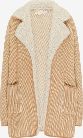 usha FESTIVAL Gebreide mantel in de kleur Beige / Sand, Productweergave