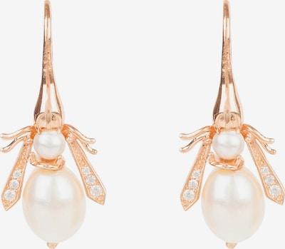 Latelita Boucles d'oreilles en blanc, Vue avec produit
