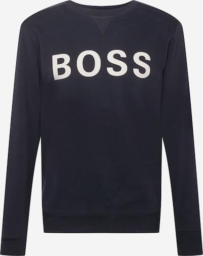 BOSS Casual Sportisks džemperis 'Weefast', krāsa - melns / balts, Preces skats