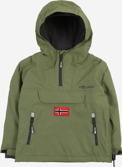 TROLLKIDS Hoodie in khaki, Produktansicht