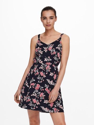 ONLY Kleid 'KARMEN' in beige / nachtblau / khaki / koralle, Modelansicht
