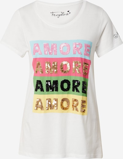 Frogbox Shirt 'Amore amore' in mixed colours / white, Item view