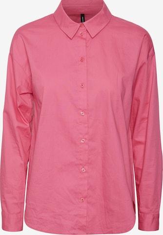 VERO MODA Pusero 'Mie' värissä vaaleanpunainen
