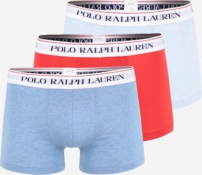 POLO RALPH LAUREN Boxers en bleu fumé / bleu clair / rouge clair, Vue avec produit