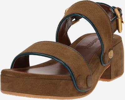 Sandale cu baretă 'Galy' See by Chloé pe maro, Vizualizare produs