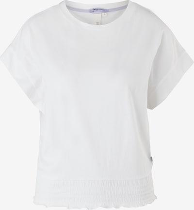 Q/S designed by T-Shirt in weiß, Produktansicht